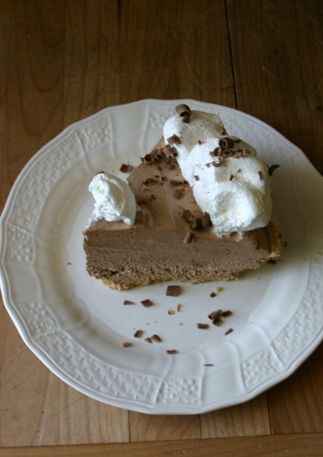 Chocolate-Slik-Pie-dessert//namafish.com